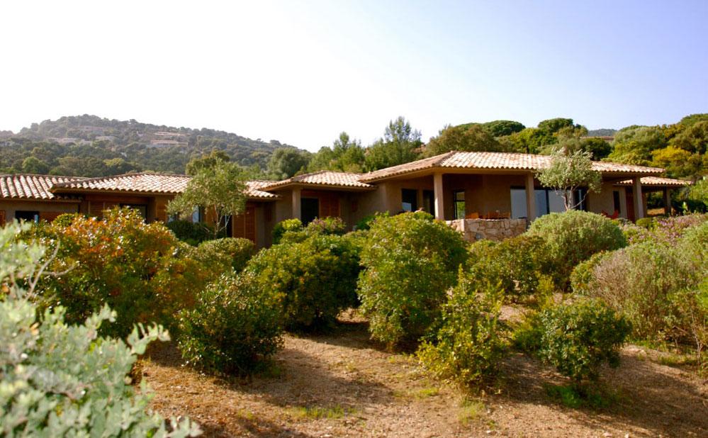 location villa corse du sud
