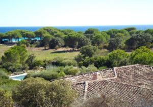 grand stnading location villa corse du sud